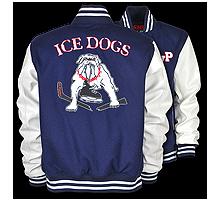 IceDogs-Kunstleder-Woll-College-Jacke-klein
