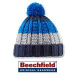 Beechfield-Chamonix-Combi-Beanie-b435