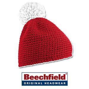 Beechfield-Slopeside-Waffle-Beanie-b433