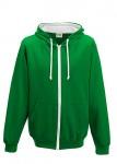 kelly green white