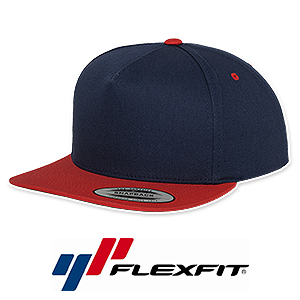 Flexfit 5 Panel Snapback Caps besticken - 6007T, 6007S, 6007