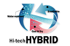 FlexfitHi-techHybridLogoSticker