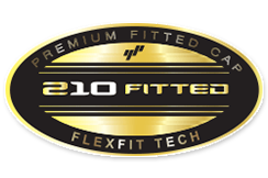 FlexfitPremium210FittedCaspLogoSticker