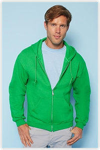 Gildan - Heavyweight Full Zip Hooded Sweat