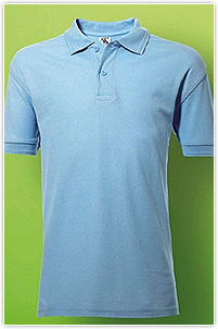 Kids Poly Cotton Polo SG