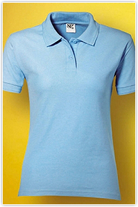 Ladies Poly Cotton Polo SG