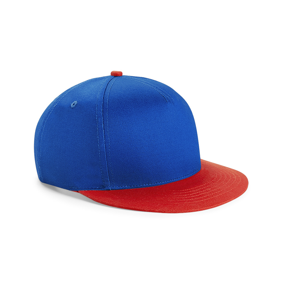 beechfield youth snapback caps besticken lassen