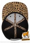 Flexfit 6089PR - black/leopard; Innenansicht