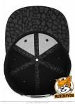 Flexfit 6089TT - black/leopard; Innenansicht