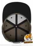 Flexfit 6089CM - wook camouflage/black; Innenansicht