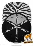 Flexfit 6089PR - black/zebra; Innenansicht