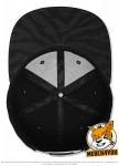 Flexfit 6089TT - black/zebra; Innenansicht