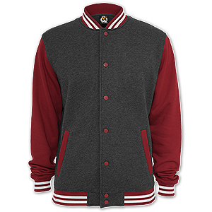 dreifarbige College Sweat Jacke - Urban Classics