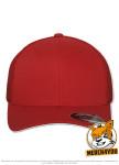 Flexfit 6511 - red, Frontansicht