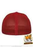 Flexfit 6511 - red, Rückenansicht
