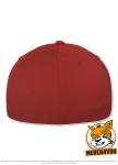 Flexfit 6595 - red/white, Rückenansicht