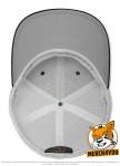 Flexfit 6511T - royal/white, Innenansicht