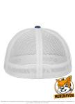Flexfit 6511T - royal/white, Rückenansicht