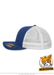 Flexfit 6511T - royal/white, Seitenansicht Links