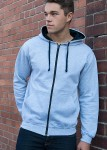Modelfoto - heather grey frech navy