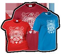 T-Shirts mit einfarbigem Druck