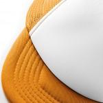 Detailaufnahme; orange/white