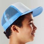 Modelfoto; sky-blue/white