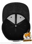 Flexfit 6089TT - black/cobra; Innenansicht