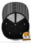 Flexfit 6089AZ - black/white; Innenansicht