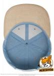 Flexfit 6089CH - blue/beige; Innenansicht