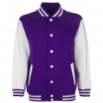Purple, White