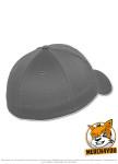 Flexfit 6277 - grey, Rückenansicht gedreht
