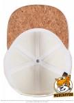 Flexfit 6089CO - natural/cork; Innenansicht