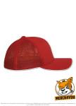 Flexfit 6511 - red, Seitenansicht Rechts